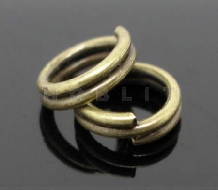 50 Splitringetjes Brons