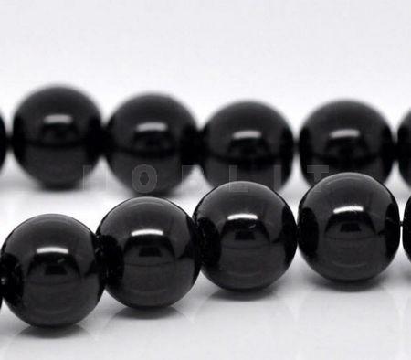 Glasparel Snoertje 10 mm Zwart