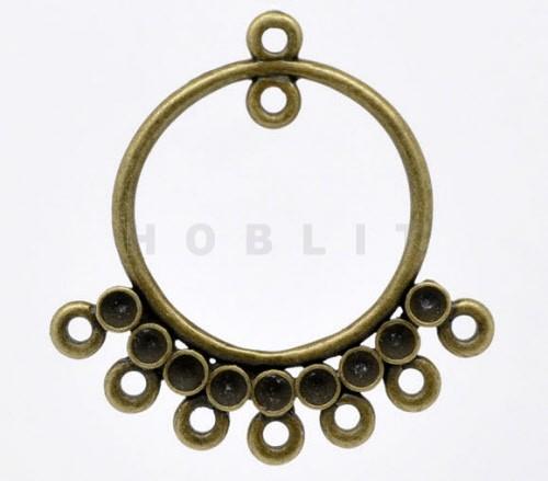 35 mm Ornament Brons