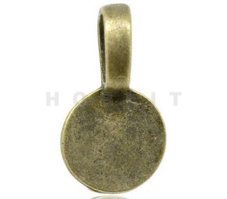 Hanger met Plakvlak Brons
