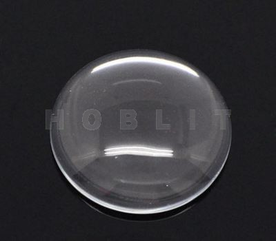 Glazen cabochon transparant