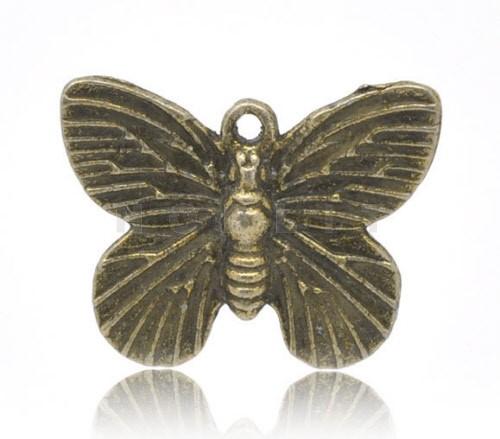 Bedeltje Vlinder brons