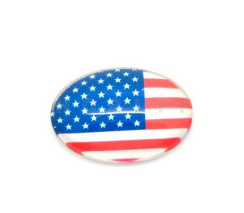 Glazen Cabochon US Vlag
