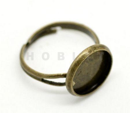Bronzen Cabochon Ring