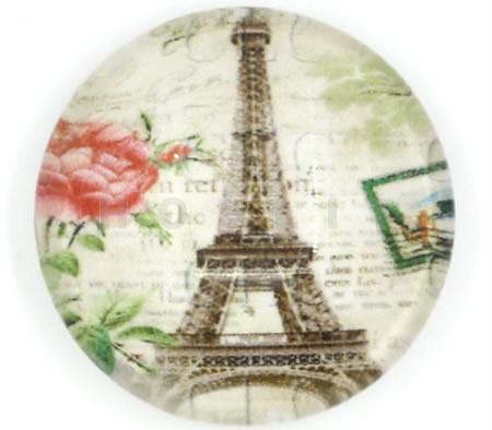 Glazen Cabochon Parijs