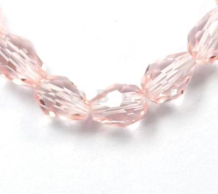 35 stuks Facet Mini Pegeltje Roze