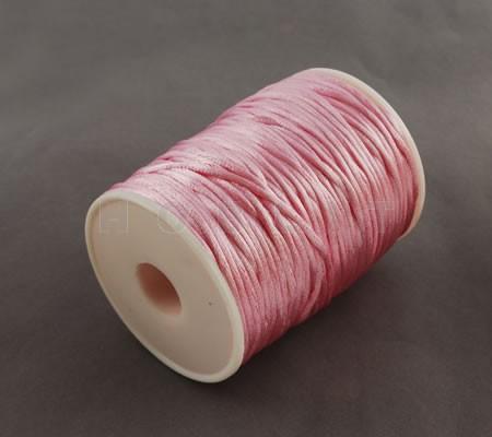 1 Meter nylon soepel vallend koord Roze