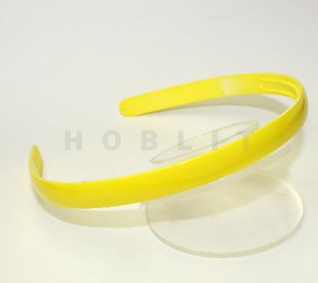 Acryl Diadeem Geel 11.5 mm