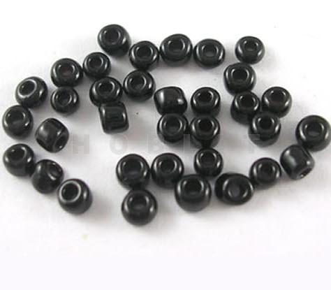 20 Gram Rocailles 4 Mm Zwart