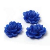 1x roosje kobalt blauw
