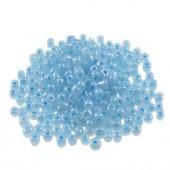 20 gram Rocailles Licht Blauw Paarlemoer
