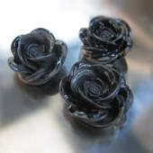 1x roosje zwart