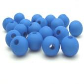 100 stuks mat frosted Blauw
