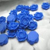 1x roosje kobaltblauw/paars