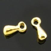 Pegelvormig Ketting Sluiter Goud