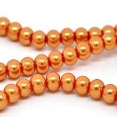 Snoertje Glasparel 8 mm Oranje