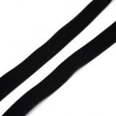 1 Meter Fluwelen Band Zwart 13 mm
