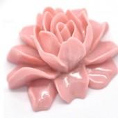 1 stuks kunsthars roos Oud Roze