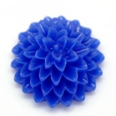 Cabochon chrysant Blauw