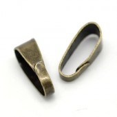 5 x Bedelhanger Brons 11 mm
