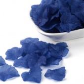 25x Frosted Blaadjes Blauw