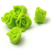 1x Fimo roos Lime
