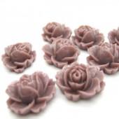 1x roosje Donker Oud Roze/Lavendel