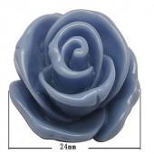 Cabochon 23 mm Lavendel/blauw