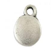 10x Glad Mini Bedel Donker Zilver