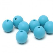 10x mat frosted turquoise 12 mm