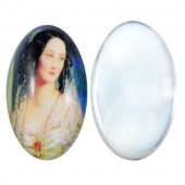Glazen Cabochon 18 x 13 mm