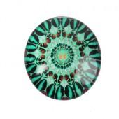 Glazen cabochon 14 mm