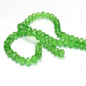 Snoertje 100 stuks Facet Licht groen