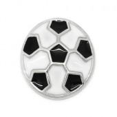 1x Emaille Kleine voetbal
