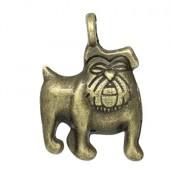 Bedeltje Kleine Bulldog Brons