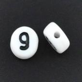 "Cijfer Kraaltje ""9"""
