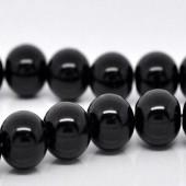 Snoertje Glasparel 6 mm Zwart
