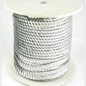 1 meter Paillettenband zilver