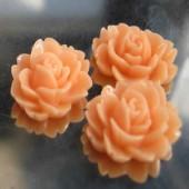 1x roosje zalm/oranje