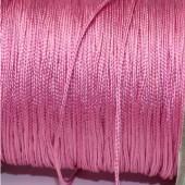 1 Meter nylon soepel vallend koord Donker Roze
