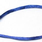 1 Meter nylon soepel vallend koord Blauw