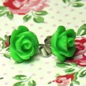 1 paar Stekertjes Roosje Groen