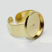 Ring Cabochonhouder goudkleurig