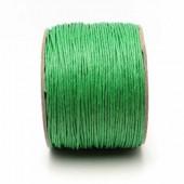 1 Meter Wax Koord Katoen Groen