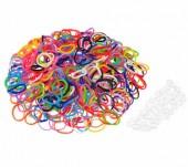 600x loombandjes mix Felle kleuren/Neon