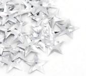 6.5 gram (200 stuks) Pailletten ster zilver