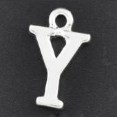 "1x Bedel lichtzilver - letter ""Y"""