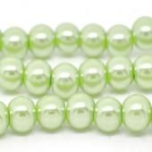 Snoertje Glasparel 4 mm Pastel Groen