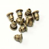 20 stuks stoppertjes brons (10 paar)