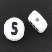 "Cijfer Kraaltje ""5"""